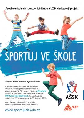Sportuj ve škole - VZP a AŠSK