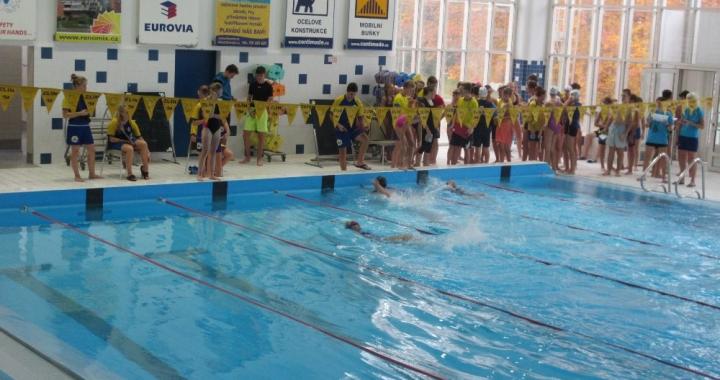 Krajské kolo v plavání úspěšné pro ZŠ Oskol Kroměříž