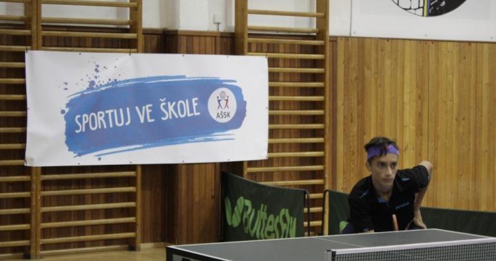 Finále poháru stolního tenisu již popáté v Holicích