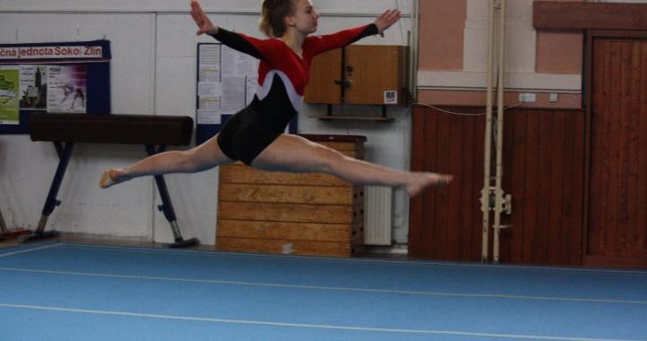 Sportovní gymnastika ve školách Zlínského kraje stále žije