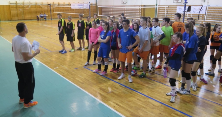 Volejbal SLZŠ vítězně pro ZŠ Okružní Zlín