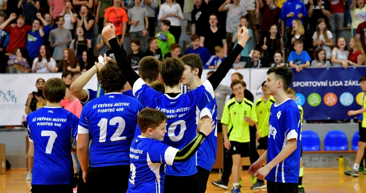 Republikové finále v házené Sportovní ligy ovládli chlapci z Frýdku-Místku a děvčata ze Zlína