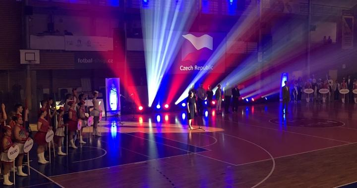 V Brně vypuklo mistrovství světa škol ve volejbalu
