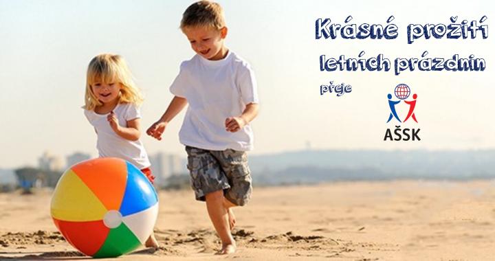 Přejeme vám krásné letní prázdniny