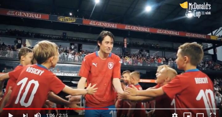 Vítězové McDonald´s Cupu se rozloučili s Rosickým