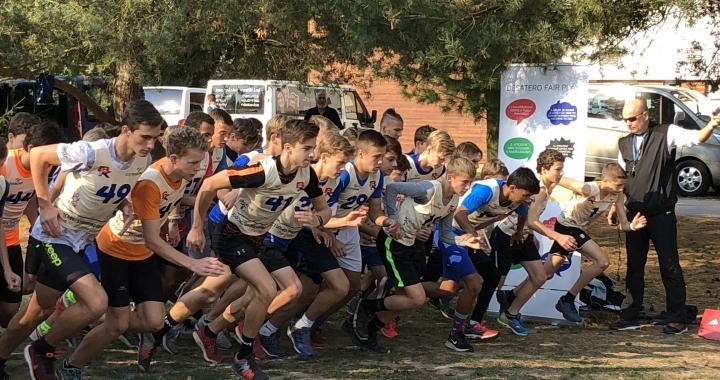 Poháry z přespolního běhu putují na Moravu i do Čech