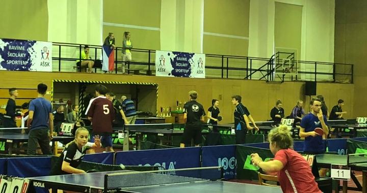 Očima vlašimských studentů: Republikové finále ve stolním tenisu