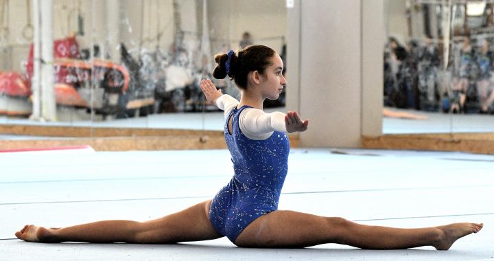 Školní tituly ve sportovní gymnastice byly rozdány