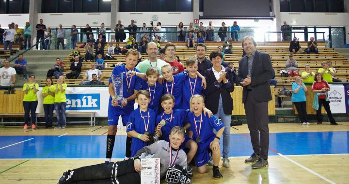 Historicky první republikové finále ve florbalu kategorie SLZŠ Junior ovládla Opava