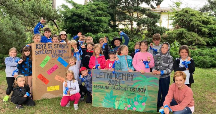 Děti ze ZŠ Seč cestovaly v rámci Letních kempů na tajuplný ostrov
