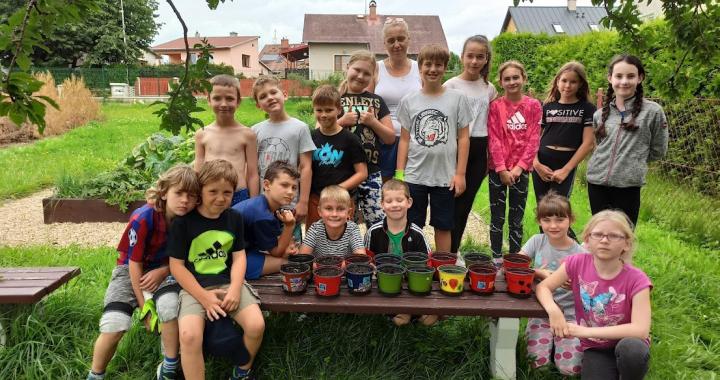 Zeměpis, literatura i sport na Letním kempu na ZŠ Východní Varnsdorf